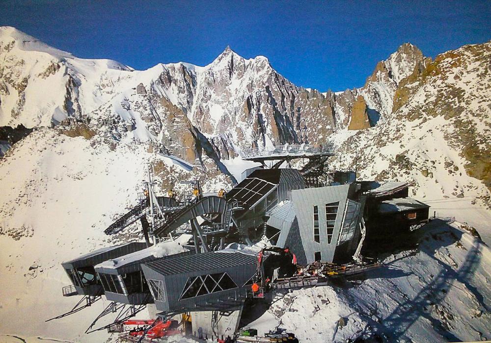 Nuove funivie SkyWay Monte Bianco | Stazione di monte | Proteo